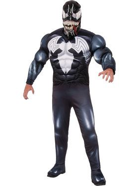 Marvel Deluxe Venom Mens Costume