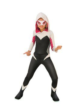 Kid's Marvel Rising Secret Warriors Spider Gwen Costume