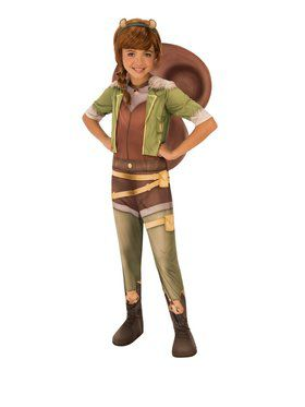 Kid's Marvel Rising Secret Warriors Squirrel Girl Costume