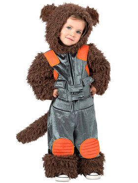 Marvel Rocket Raccoon Toddler Costume