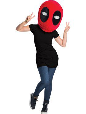 Marvel Universe Adult Deadpool Oversized Mask
