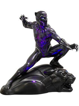 Marvel Universe Black Panther Life Size Collectible Statue Prop