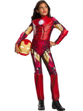 Marvel Universe Iron Man Costume for Kids