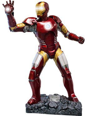 Iron Man Life Size Collectible Statue Prop