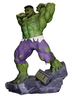 Marvel Universe The Incredible Hulk Life Size Collectible Statue Prop