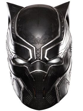 Marvel's Captain America: Civil War- Black Panther Full Vinyl Mask For Adults