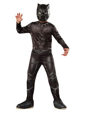 Marvel's Captain America: Civil War - Black Panther Boy's Costume