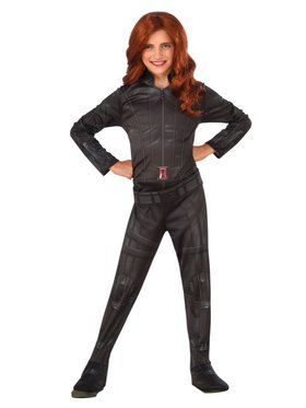 Marvel's Captain America: Civil War - Black Widow Costume For Kids