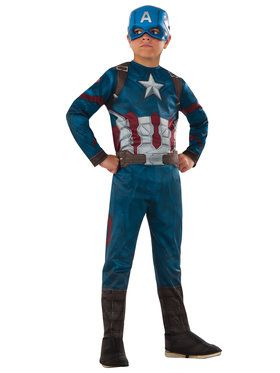 Marvel's Captain America: Civil War - Captain America Boys Costume