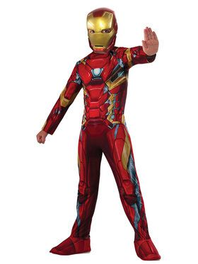 Marvel's Captain America: Civil War - Iron Man Boys Costume