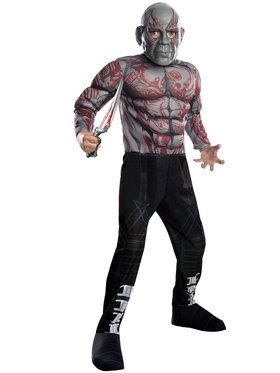 Marvel's Guardians of the Galaxy Drax the Destroyer Deluxe Boys Costume