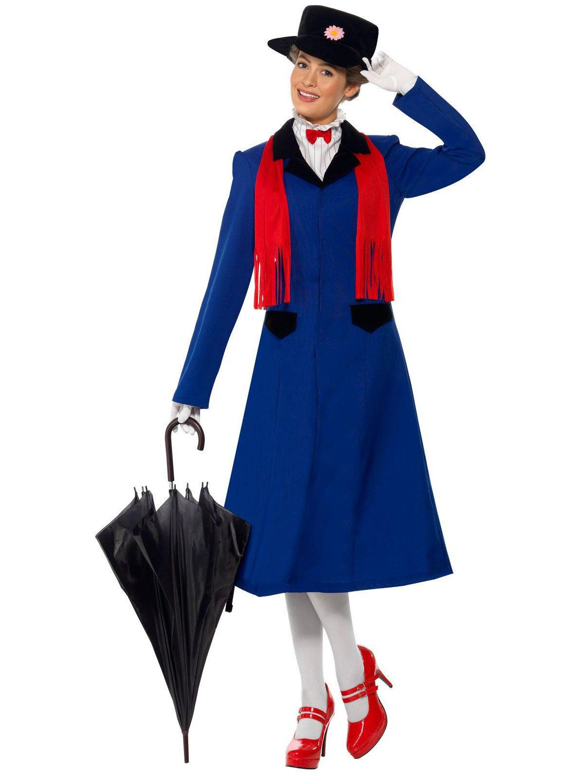 mary poppins costume for adults womens costumes for 2018 wholesale halloween costumes. Black Bedroom Furniture Sets. Home Design Ideas