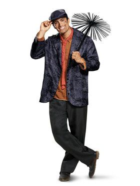 Deluxe Mary Poppins: Bert Costume for Adults