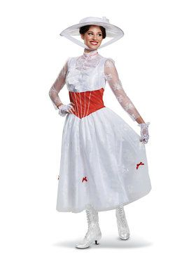 Deluxe Mary Poppins Costume for Adults