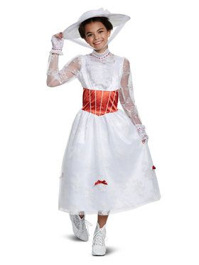 Deluxe Mary Poppins Costume for Children