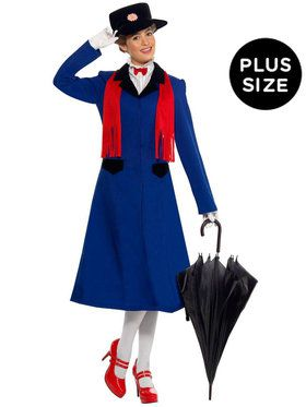 plus size mary poppins costume for adults