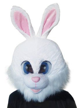 Bunny Adult Mascot Mask