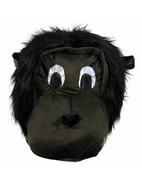 Mascot Mask Gorilla Adult