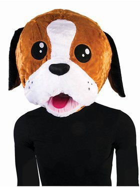 Mascot Mask Puppy Adult