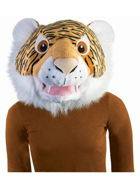 Tiger Mascot Mask Adult