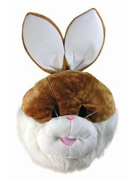 Mascot Masks Bunny Adult