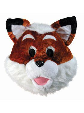 Fox Adult Mascot Mask