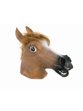 Mask Brown Horse Adult