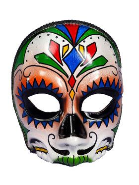 Day of the Dead Male Adult Mask