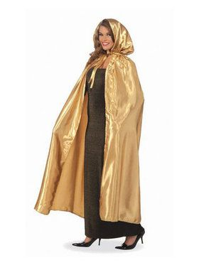 Masquerade Gold Cape For Adults