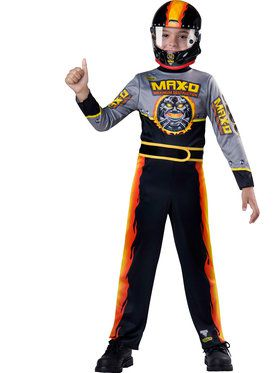 Max-D Monster Jam Boy's Costume
