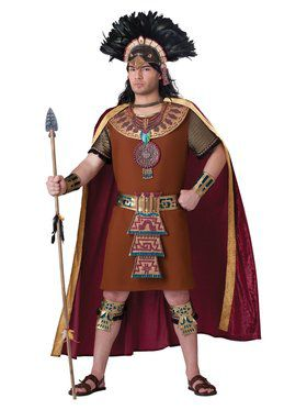 Mayan King Men's Costume