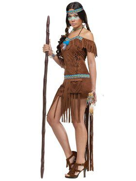 Medicine Woman Indian Adult Costume