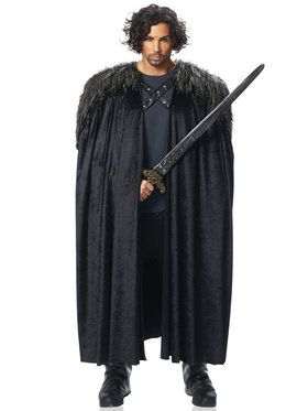 Medieval Cape Men's Costume