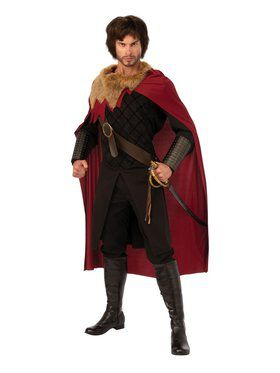 Medieval King Costume for Adults