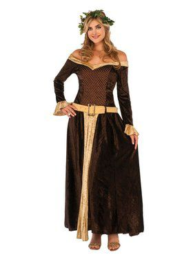 Medieval Mistress Women's Costume