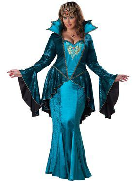 Medieval Queen Women's Plus Size Costume