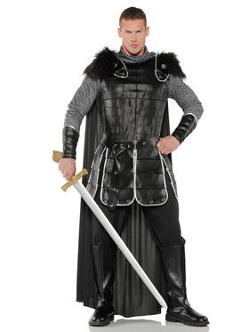Medieval Warrior King Men's Costume
