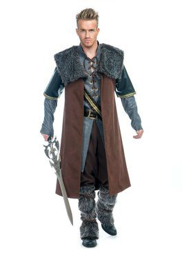 Adult's Medieval Warrior Costume