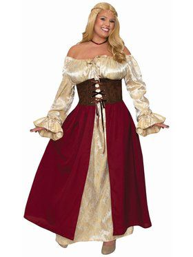 Medieval Wench Plus Costume