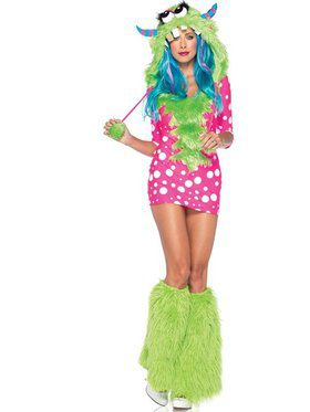 Melody Monster Sexy Women's Costume