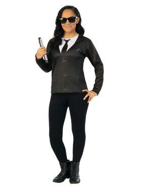 Men In Black 4 Agent EM Top Costume for Adults