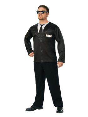 Men In Black 4 Agent H Top Costume for Adults