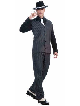 Vintage 20's Style Gangster Costume for Men