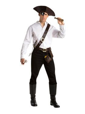 Adult Pirate Kit For Adults