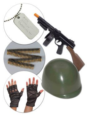 Ammunitions Ace Mens Fortnite Soldier Kit