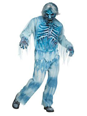 Mens Icy Tundra Zombie Costume