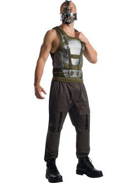 Plus Size Men's Batman Villain Bane Costume