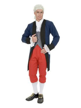 Mens Ben Franklin / Colonial Man Costume