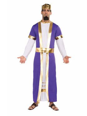 Mens Biblical King Costume