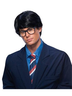 Adult Men Cosplay Black Wig